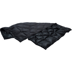 Yeti Kiby Couverture en duvet repliable 200x140cm, coal grey/black